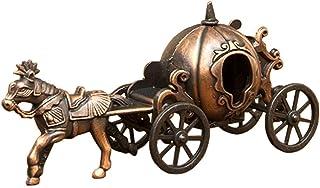 秋月貿易 デザイン小物 かぼちゃ馬車 W.10cm x D3cm x H5cm アンティークシャープナー 9632