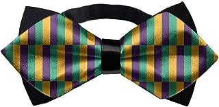 MrDecor Handmade Boy's Gifts Mardi Gras Jester Bow Ties
