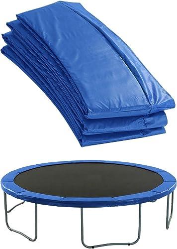 Coussin de Sécurité Couvre Ressorts pour Trampoline Rond - Bord 25.4 cm - Bleu ou Vert - Upper Bounce