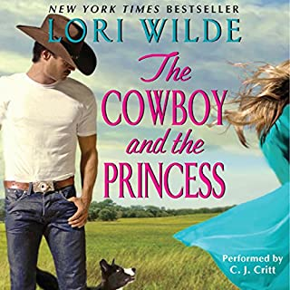 The Cowboy and the Princess audiobook cover art
