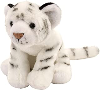 Wild Republic White Tiger Plush, Stuffed Animal, Plush Toy, Gifts for Kids, Cuddlekins 8 Inches