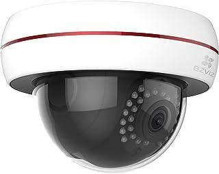 EZVIZ C4S WiFi Smart Home Security Camera, 1080P, Vandal Proof Outdoor IK10, Weatherproof IP66, 30m Night Vision, Local or...