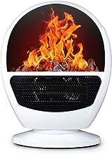 XHHWZB Calentador de Espacios - Calentador eléctrico Chimenea con Llama Efecto 3D, protección contra sobrecalentamiento, Calentador Estufa Chimenea con Patas