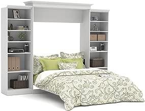 Bestar Versatile Queen Wall Bed with Storage in White