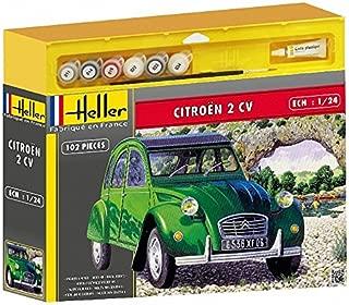 Heller 50765 Citroën 2 CV - Maqueta de Coche Antiguo