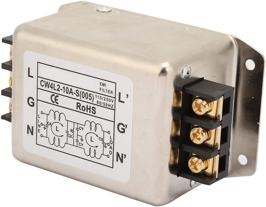 Single/bipolar Single 50/60Hz Power Line Filter for Treadmills