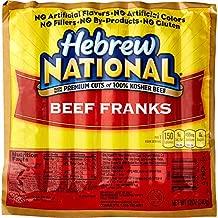 Hebrew National Beef Franks, 12 Oz (4 Pack) 28 Total Hotdogs