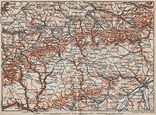 Best swabian jura map Reviews