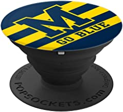PopSockets: Michigan Football Go Blue - PopSockets Grip and Stand for Phones and Tablets