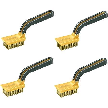 3 Unidades 1 x Brass Harris 101064301 Essentials-Cepillo de Alambre 1 x Steel 1 x Nylon