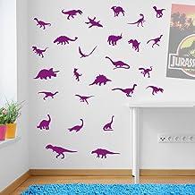 Dinosaurus Muurstickers Dinosaurussen Dino Jurassic Park Muurdecoraties Raamstickers Muurdecoratie Muurstickers Muursticke...