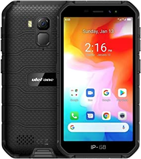 YUN AYS Armor X7 Rugged Phone, 2GB+16GB, IP68/IP69K Waterproof Dustproof Shockproof, Face ID & Fingerprint Identification, 4000mAh Battery, 5.0 inch Android 10.0 MTK Helio A20 MT6761VWE Quad Core 64-b