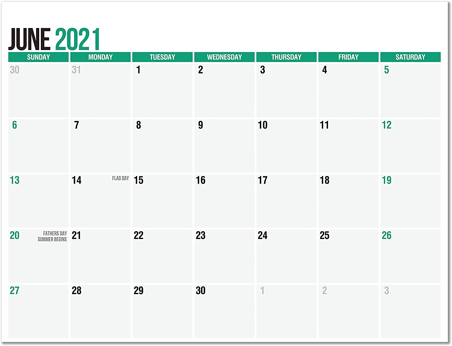 SplightPrints Magnetic Fridge Calendar Directly managed store Pad from June Dec to Sale price 2021