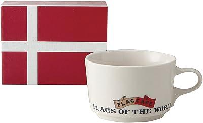 フラッグ カフェ マグカップ (ポストカード付) (化粧箱入) デンマーク 1068