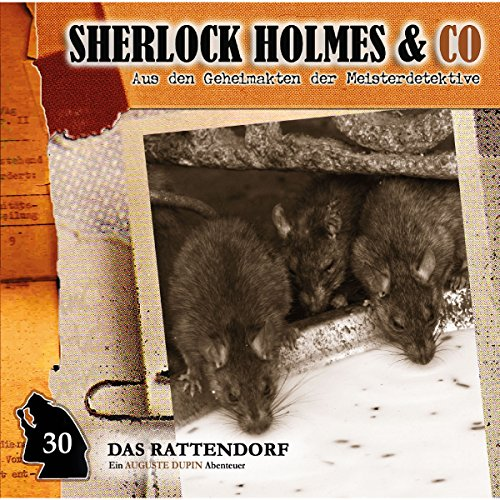 Das Rattendorf audiobook cover art