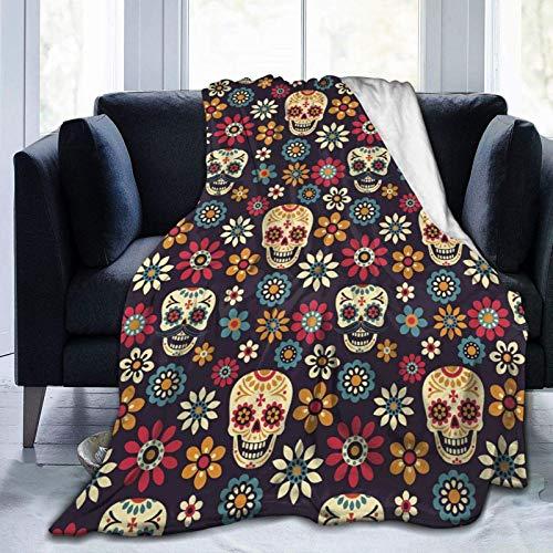 Baby Flanel Decken, Unisex, weich, flauschig, Überwurf, Decke, Bur&i Flagge, Decke, Ganzjahresdecke, 102 x 127 cm