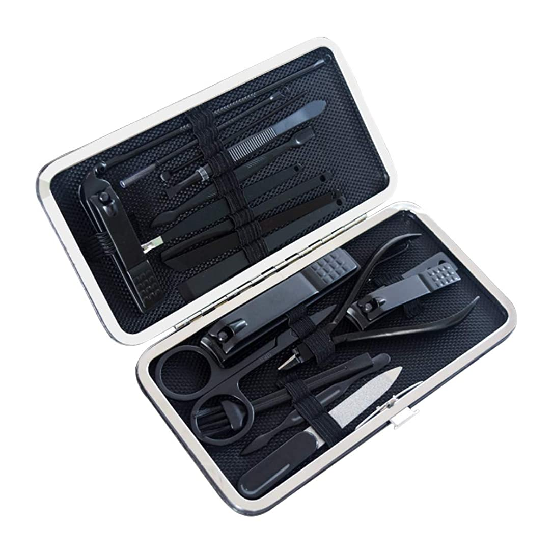 規制噴出する期待するZEVONDA ネイルケアセット 17点セット - 手足爪磨き甘皮処理 爪切りセット 収納ケース付き 携帯便利 旅行用 家庭用 贈り物