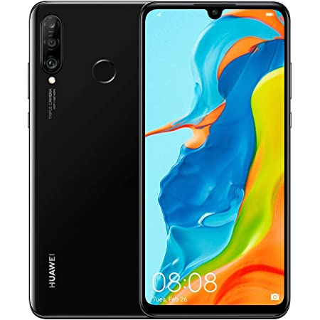 HUAWEI P30 Lite New Edition Marie-L21BX Dual-SIM 256GB (GSM Only | No CDMA) Factory Unlocked 4G/LTE Smartphone (Midnight Black) - International Version