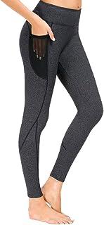 High Waist Yoga Pants with Pockets Yoga Pants for Women Tummy Control Yoga Leggings