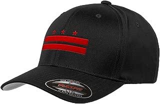 Chicago Flag Hats Washington D.C Official Flag Flexfit Hat 6277