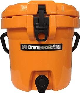 Fatboy 2.5 Gallon Waterboy Water Jug Cooler Orange