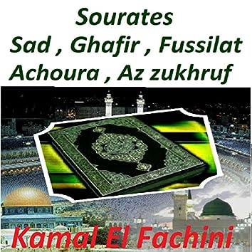 Sourates Sad, Ghafir, Fussilat, Achoura, Az Zukhruf (Quran)