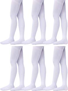 6 Pairs Girls Dance Tights Ballet Dance Tight Soft Toddler Dance Tights for Toddler Girls Favor