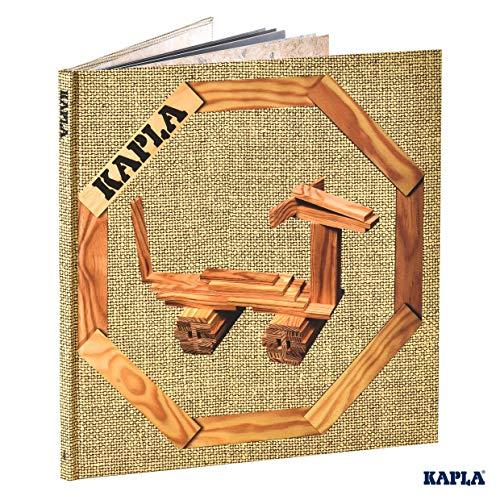 Kapla 9000133 Kunstbuch Band Nr.4 Art Book Tiere und Gebäude