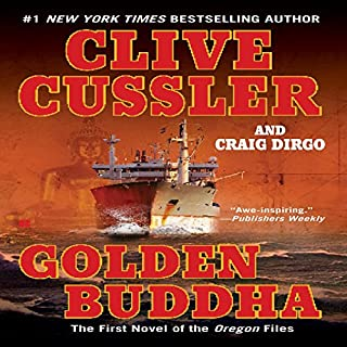 Golden Buddha audiobook cover art