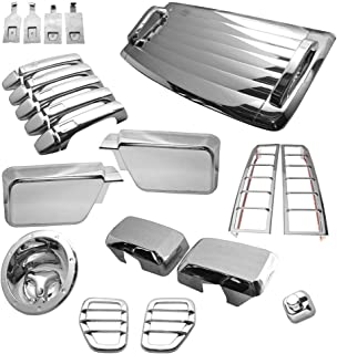Best h3 hummer accessories chrome kits exterior Reviews