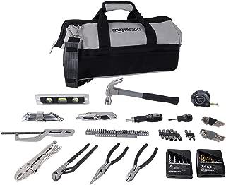 AmazonBasics 115 Piece Home Repair Tool Kit Set With Bag