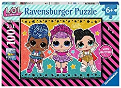 A fabulous sparkly 100 piece puzzle featuring the cute, cool and collectable LOL dolls from LOL Surprise! Bestselling puzzle brand worldwide - With over 1 billion puzzles sold, our children's jigsaw puzzles make ideal gifts for boys and great gifts f...