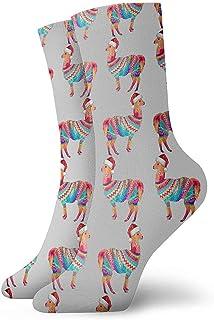 Dydan Tne, Calcetines navideños Mama Llama Calcetines Divertidos Calcetines Locos Calcetines Casuales para niñas Niños