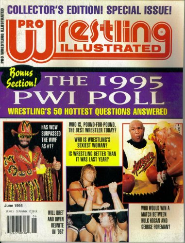 Pro Wrestling Illustrated : The 1995 PWI Poll (June 1995)