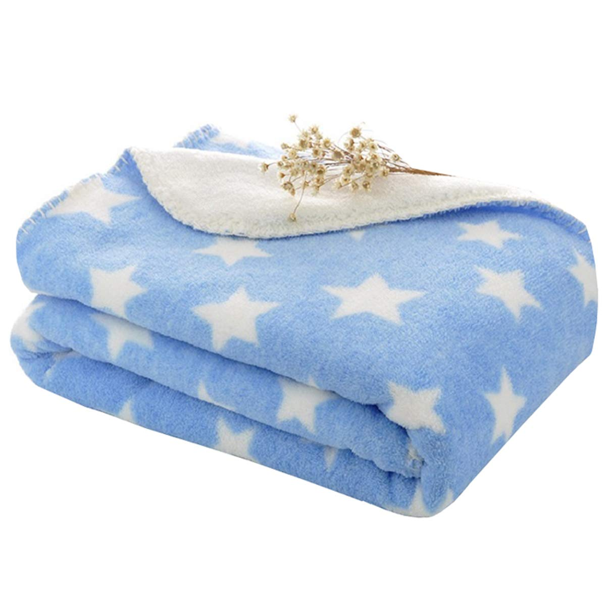 Cutieco Luxury Series Super Soft Baby Wrapper/Blanket/Top Sheet for New  Born Babies, Blue