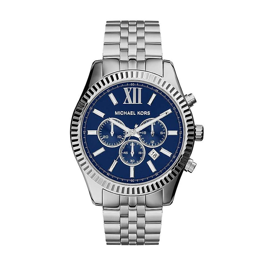 Michael Kors Silver Lexington Watch