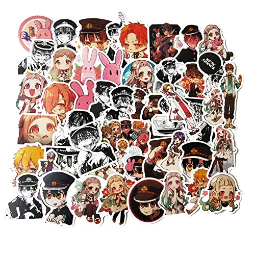 LZWNB Waterproof Japanese Anime Youth Sticker Mobile Phone Luggage Scooter Bike Sticker 40Pcs