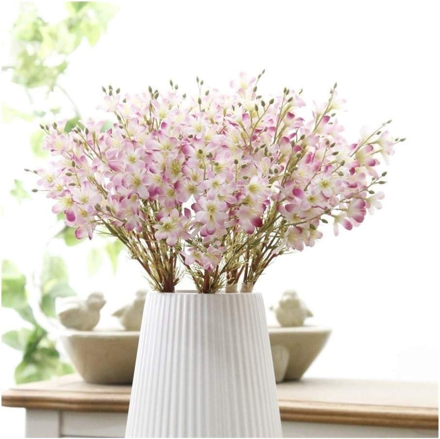 HAODA Sales for sale Artificial Plants 3 Heads Simulation Flower Eryngium Plant trend rank