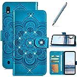 Robinsoni Custodia Compatibile con Samsung Galaxy A10 Cover Portafoglio Custodia Libro Fli...
