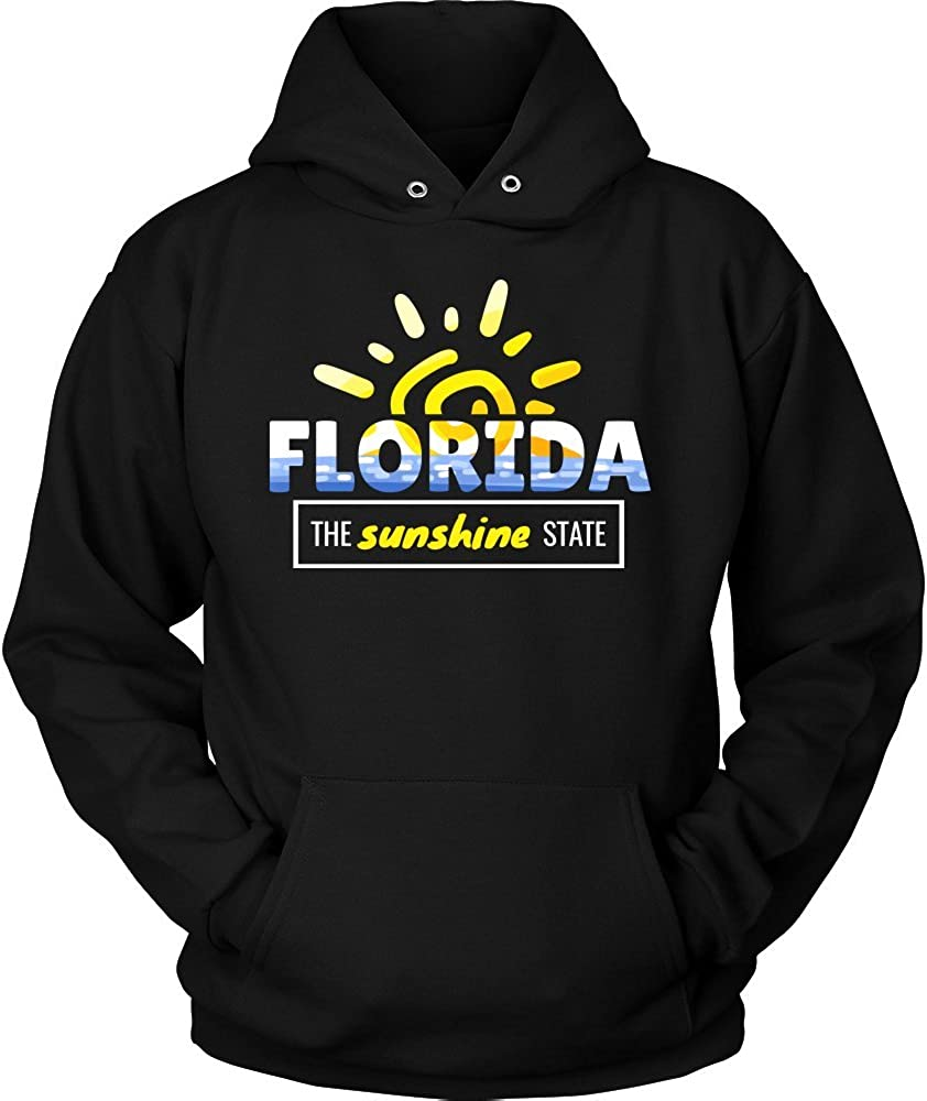 Florida Sunshine State Tropical American Hoodie