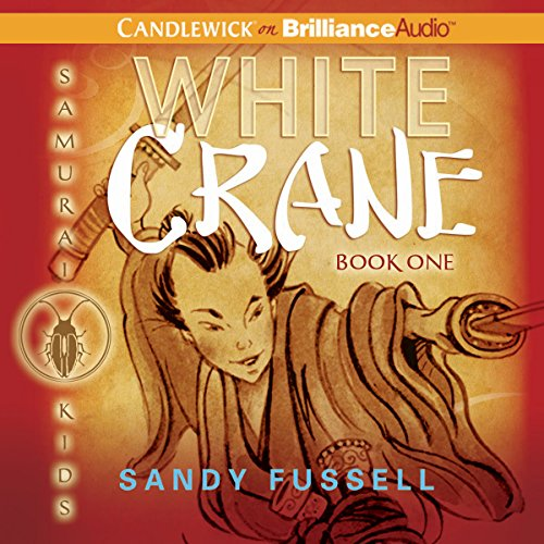 White Crane audiobook cover art