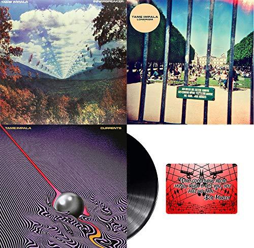 Tame Impala: Complete Vinyl Studio Album Discography (Innerspeaker / Lonerism / Currents) with Bonus Art Card