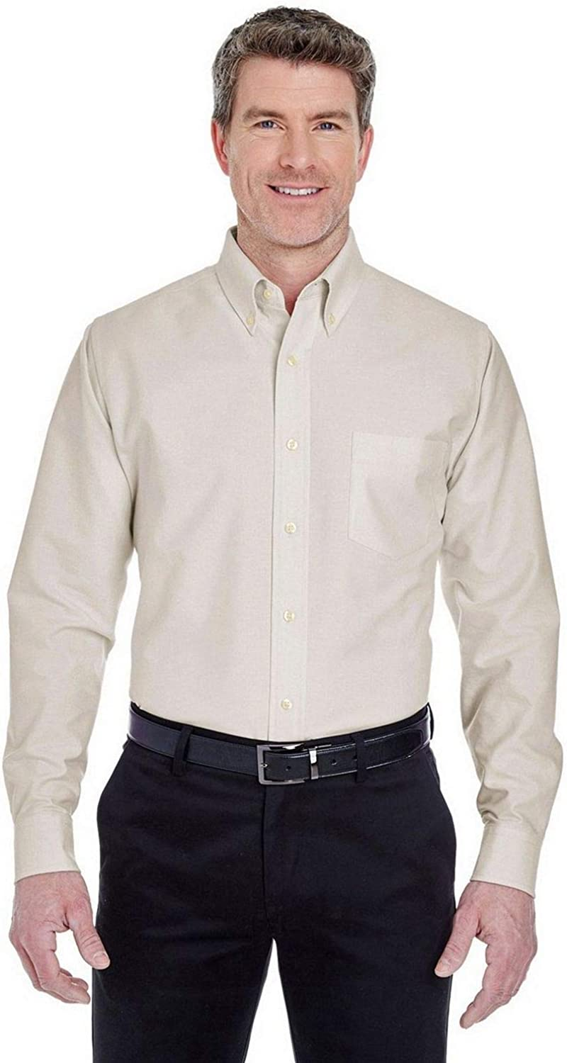 UltraClub 8970 Long Sleeve Dress Shirt OFFicial mail Oakland Mall order Oxford
