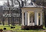 Kleine Perle Weimar-Tiefurt (Wandkalender 2019 DIN A3 quer): Auf Feiningers Spuren kommt man auch durch das mittelalterliche Tiefurt bei Weimar an der ... (Monatskalender, 14 Seiten ) (CALVENDO Orte) - Flori0