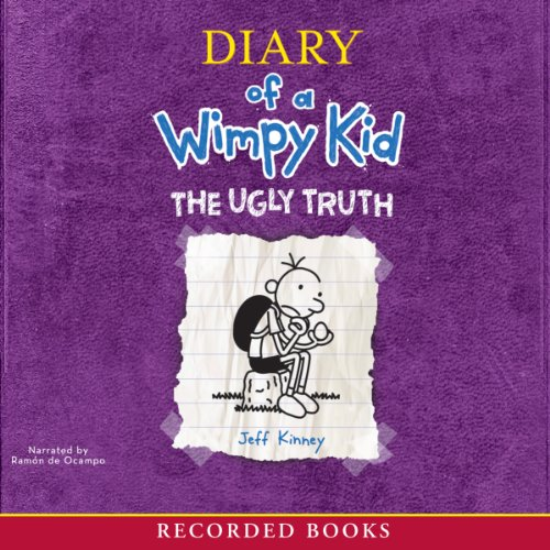 Diary of a Wimpy Kid: The Ugly Truth audiobook cover art