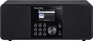 Telestar DIRA S 2 multifunctionele stereo radio (Digiradio, Hybridradio, DAB+/FM, USB-muziekspeler, UPnP, DLNA en Bluetoot...