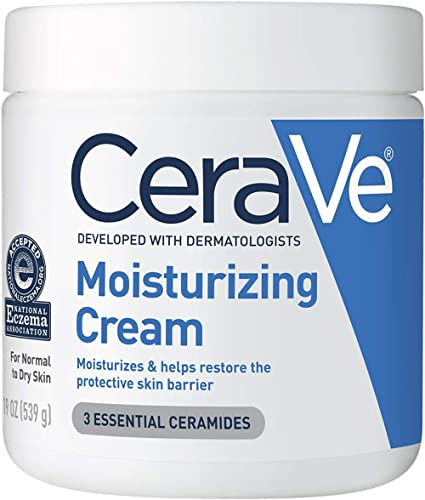 CeraVe Moisturizing Cream | Body and Face Moisturizer for Dry Skin | Body Cream with Hyaluronic Acid and Ceramides | ...