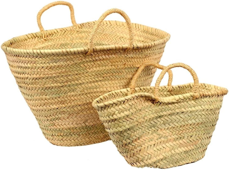 Casawhitea Market Mgoldccan Mother & Daughter Market Basket