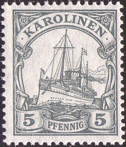 Goldhahn Deutsche Kolonien 16 postfrische ** Werte mit Karolinen Nr. A21 Briefmarken für Sammler