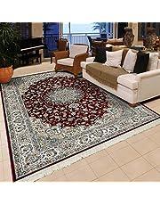 Al Salem Carpet Carpet Royal Palace Collection Classic Area Rug, 067 CM x 210 CM, RED
